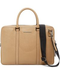 Burberry - Newburg Small Leather Briefcase - Lyst
