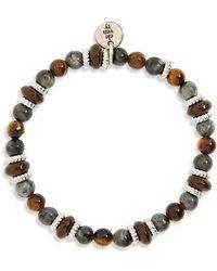 Eleventy - Bead Bracelet - Lyst
