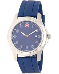 Victorinox | Men's Garrison Elegance Strap Watch, 40mm | Lyst