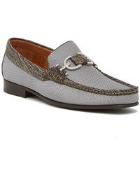 Donald J Pliner - Leather Bit Moccasin Loafer - Lyst