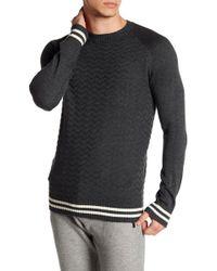 Parke & Ronen - Raglan Textured Knit Sweater - Lyst