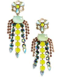Loren Hope - Flora Chandalier Earrings - Lyst