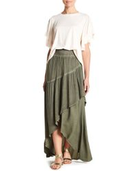 On The Road - Ophelia Wrap Front Skirt - Lyst