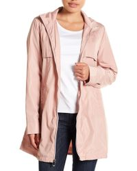 Via Spiga - Babydoll Hooded Jacket - Lyst