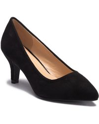 In Touch Footwear - Diane Pointed Toe Low Pump - Lyst