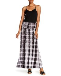Bobeau - Convertible Knit Maxi Skirt - Lyst