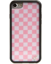 Wildflower - Checkerboard Iphone 6/7/8 Plus Case - Lyst