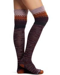 Smartwool - Built Up Beehive Over-the-knee Socks - Lyst