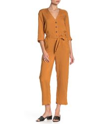 Mustard Seed - Utility Jogger Jumpsuit - Lyst