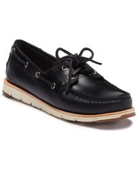 Timberland - Camden Falls Leather Boat Shoe - Lyst