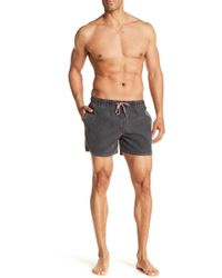 Native Youth - Sandside Salt Faded Swim Shorts - Lyst