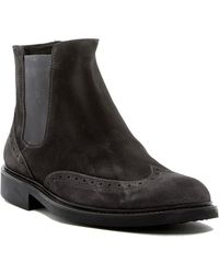 Bugatchi - Bresica Suede Chelsea Boot - Lyst
