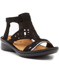 Naot - String Cutout Sandal - Lyst