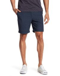 Original Penguin - Dot Ditsy Floral Print Cuffed Shorts - Lyst