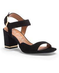 Calvin Klein - Chantay Asymmetrical Sandal (women) - Lyst
