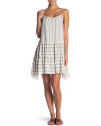 Robin Piccone - Norah Striped Strappy Cover-up Dress - Lyst