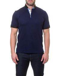 Maceoo - Paver Print Polo - Lyst