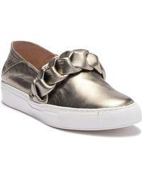 Rachel Zoe - Burke Braid Slip-on Sneaker - Lyst