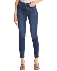 7 For All Mankind - High Waist Gwenevere Skinny Jeans - Lyst