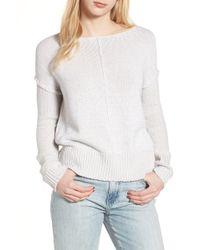 Rebecca Minkoff - Lola Reversible Twist Sweater - Lyst