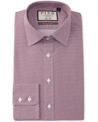 Thomas Pink - Slim Fit Cane Print Dress Shirt - Lyst