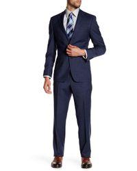 Spurr By Simon Spurr - Mini Houndstooth Modern-regular Fit Suit - Lyst