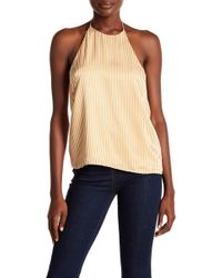 ARRIVE - Riley Satin Stripe Cami - Lyst