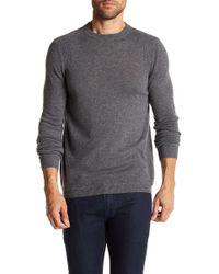 Autumn Cashmere - Ribbed Knit Trim Cashmere Sweater - Lyst