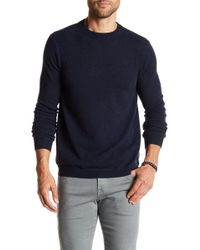Autumn Cashmere - Ribbed Knit Trim Cashmere Sweater - Lyst