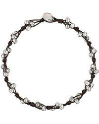 Uno De 50 - Rock'n Roll Leather Necklace - Lyst
