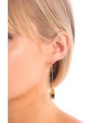 Cole Haan - Faceted Drop Earrings - Lyst