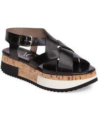 Attilio Giusti Leombruni - Cork Platform Sandal (women) - Lyst