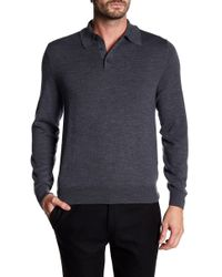 Brooks Brothers - Merino Wool Button Sweater - Lyst