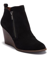 Lucky Brand - Yesterr Wedge Bootie - Lyst