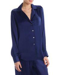 Commando - Silk Pajama Shirt - Lyst