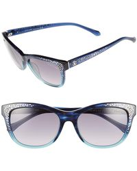 Roberto Cavalli - 55mm Tsze Square Acetate Frame Sunglasses - Lyst