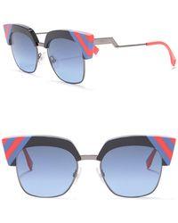 56c893f314 Lyst - Gucci Unisex Retro Square Plastic Frame Sunglasses