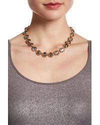 ABS By Allen Schwartz - Stone Collar Necklace - Lyst