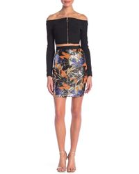 Wow Couture - Sequin Embroidered Skirt - Lyst