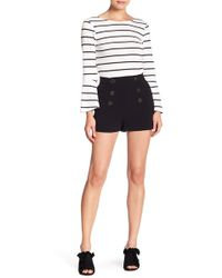 Cupcakes And Cashmere - Eli Button Detailed Shorts - Lyst