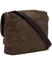Fossil - Defender Ew Leather City Bag - Lyst