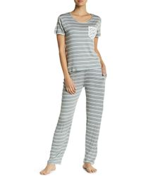 Catherine Malandrino   Ruffle Pocket Pajama Set   Lyst