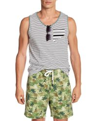 Sovereign Code - Yield Stripe Tank Top - Lyst