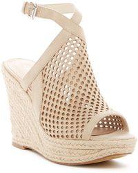Guess - Helida Wedge Platform Sandal - Lyst