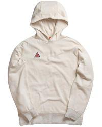 8c2b44abda77 Lyst - Nike Classic Pullover Fleece Hoodie in Red for Men