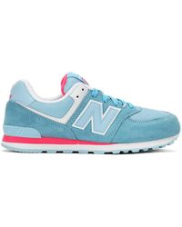 New Balance - Kl574olg Light Blue/ - Lyst