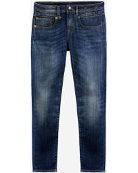 R13 - Women's Boy Skinny Denim Vintage Blue - Lyst