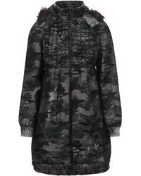 Anna Sui - Shimmer Camouflage Bomber Jacket - Lyst