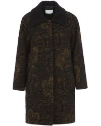 Song For The Mute - Classic Collar Coat - Lyst
