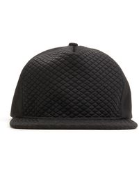 Stampd - Black Diamond Quilted Hat - Lyst